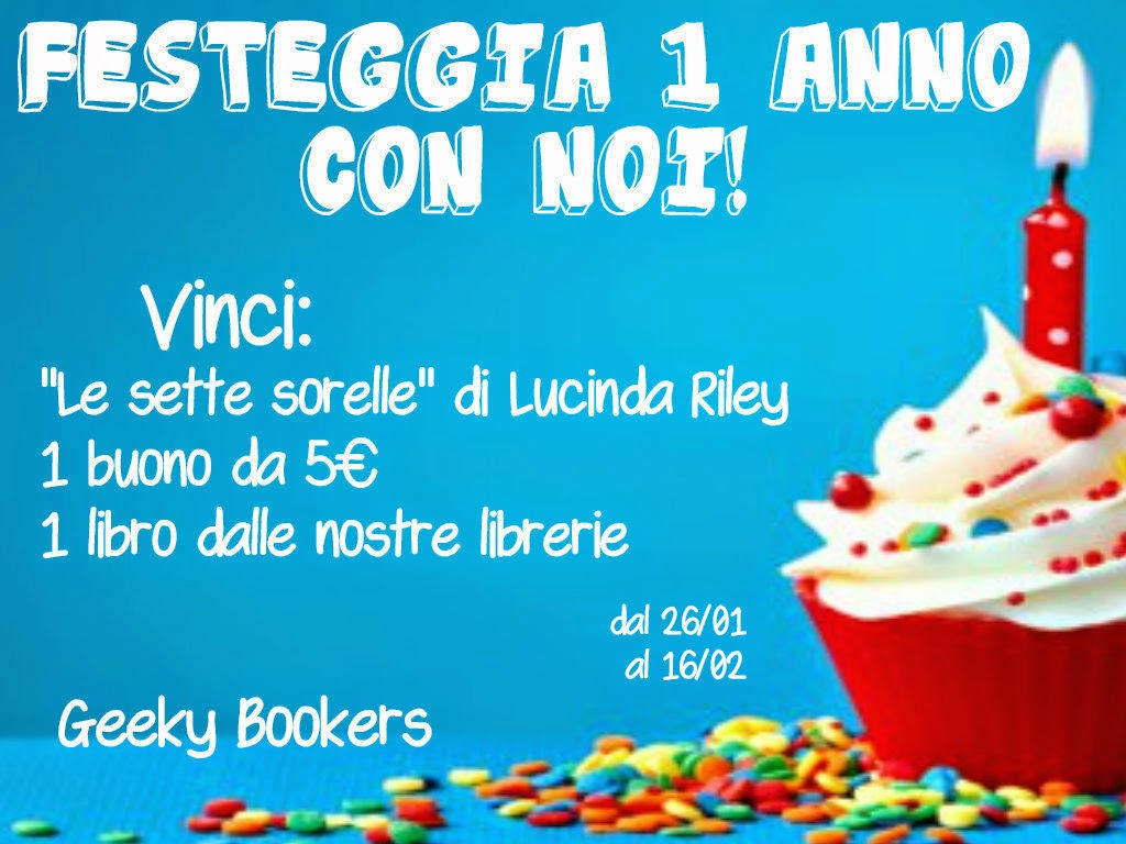 Primo compleanno di GeekyBookers