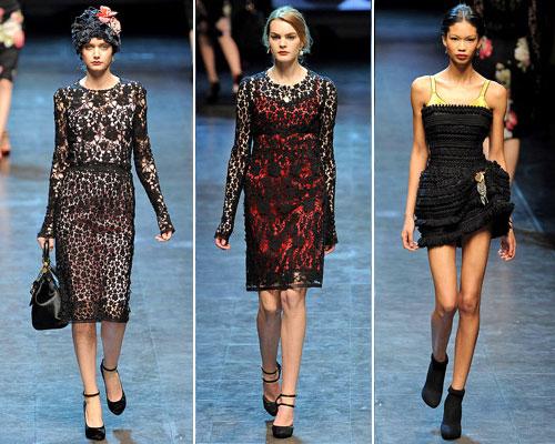 modnue platya dg06 Модні сукні від Dolce & Gabbana