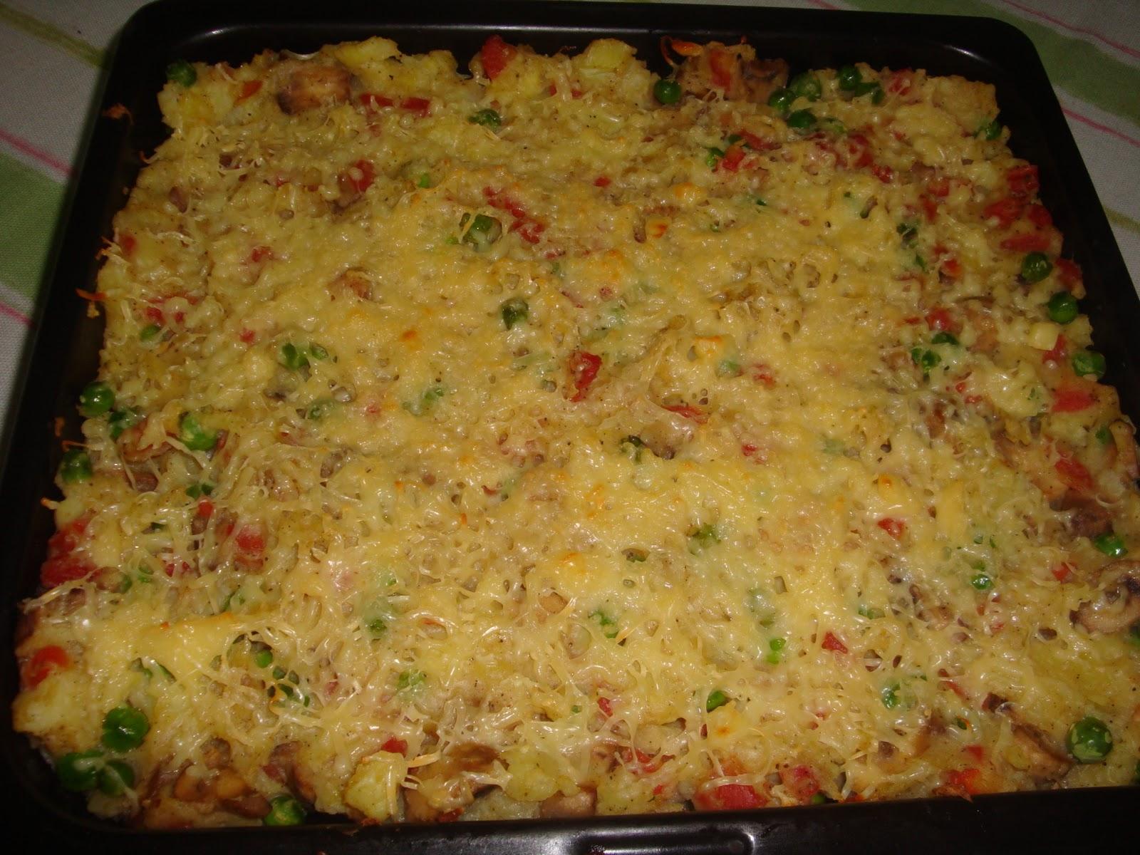 Vegetable Au Gratin Recipe — Dishmaps