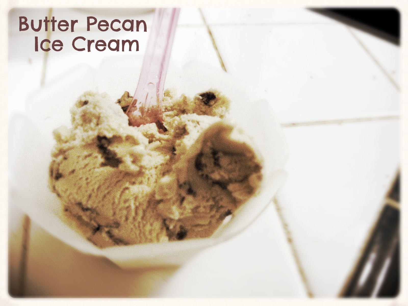 Butter Pecan Ice Cream by freshfromthe.com