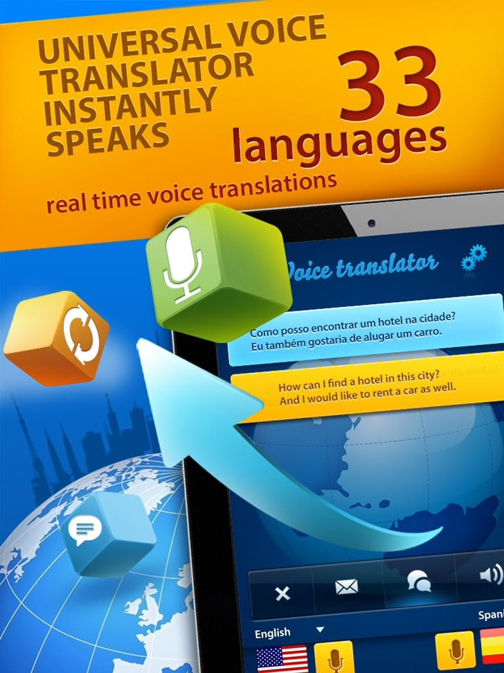 Voice Translator App iTunes App By Smart Loft - FreeApps.ws
