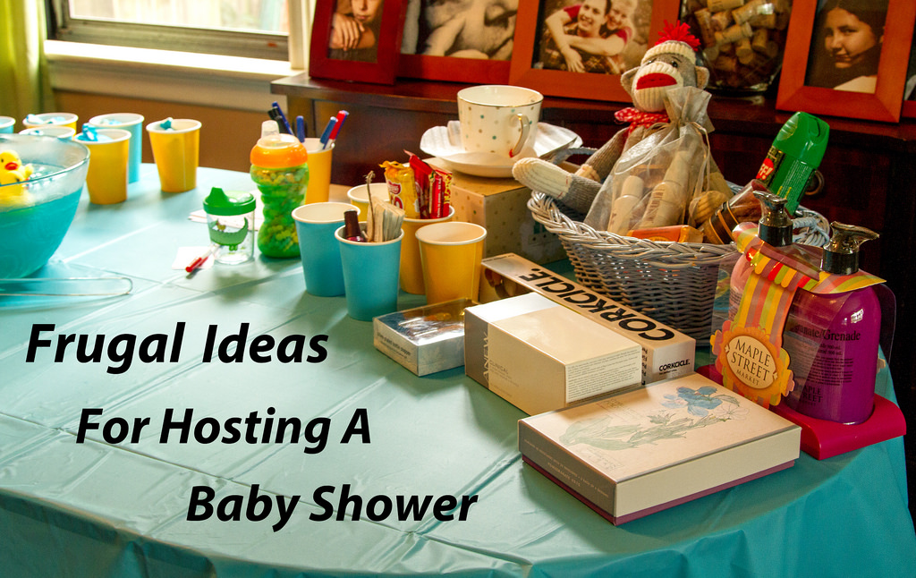 Frugal Ideas For Hosting A Baby Shower For 12 For Under $100