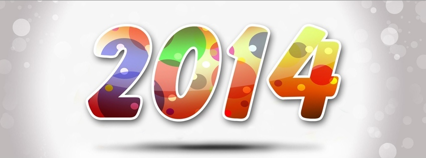 Cover facebook happy new year 2014