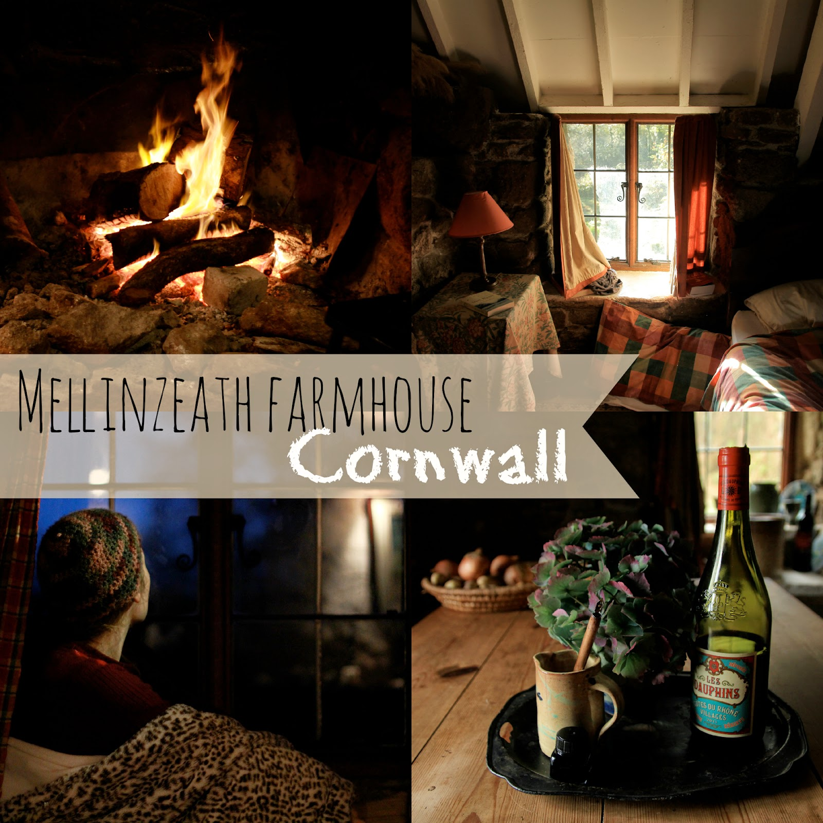Rustic cottage in Cornwall - Review of Mellinzeath Farmhouse, Helford