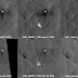 Il vento sposta il paracadute di Curiosity sulla superficie di Marte