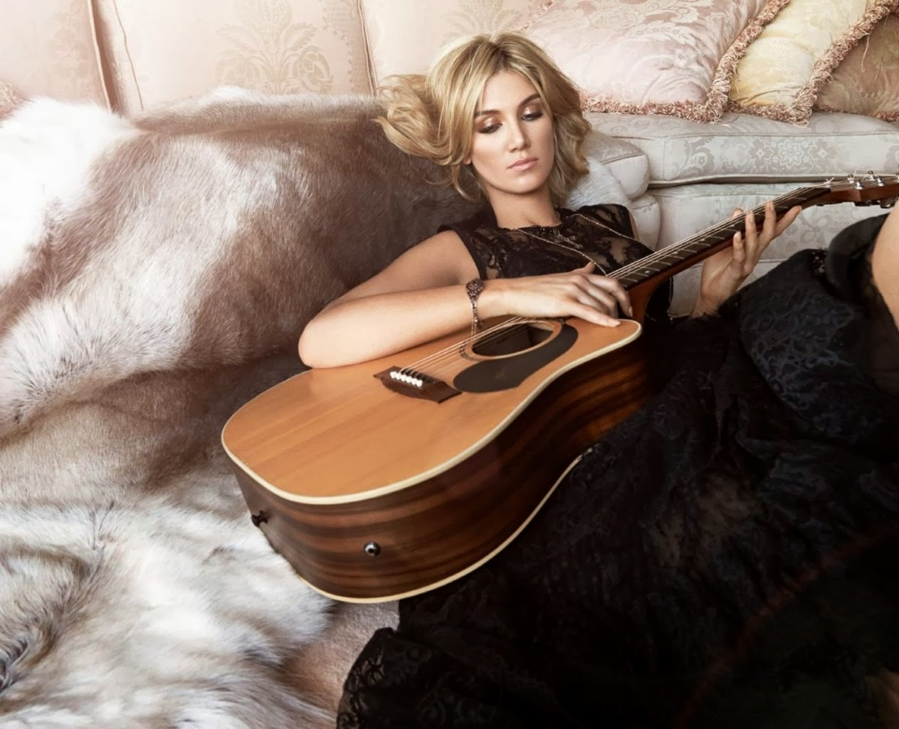 Delta Goodrem HQ Pictures Instyle  Magazine Photoshoot March 2014
