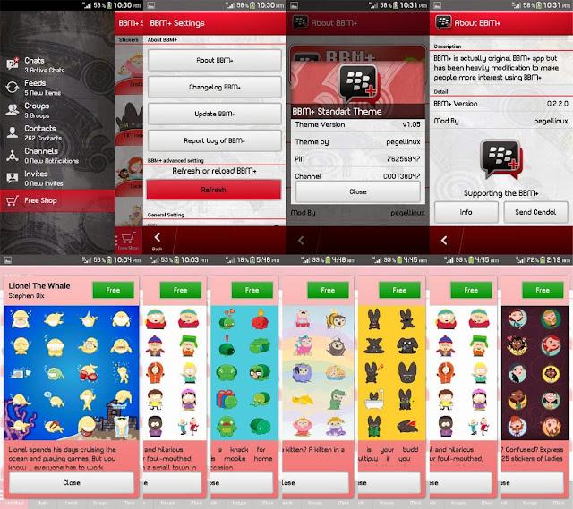 Download BBM+ Mod Android Terbaru