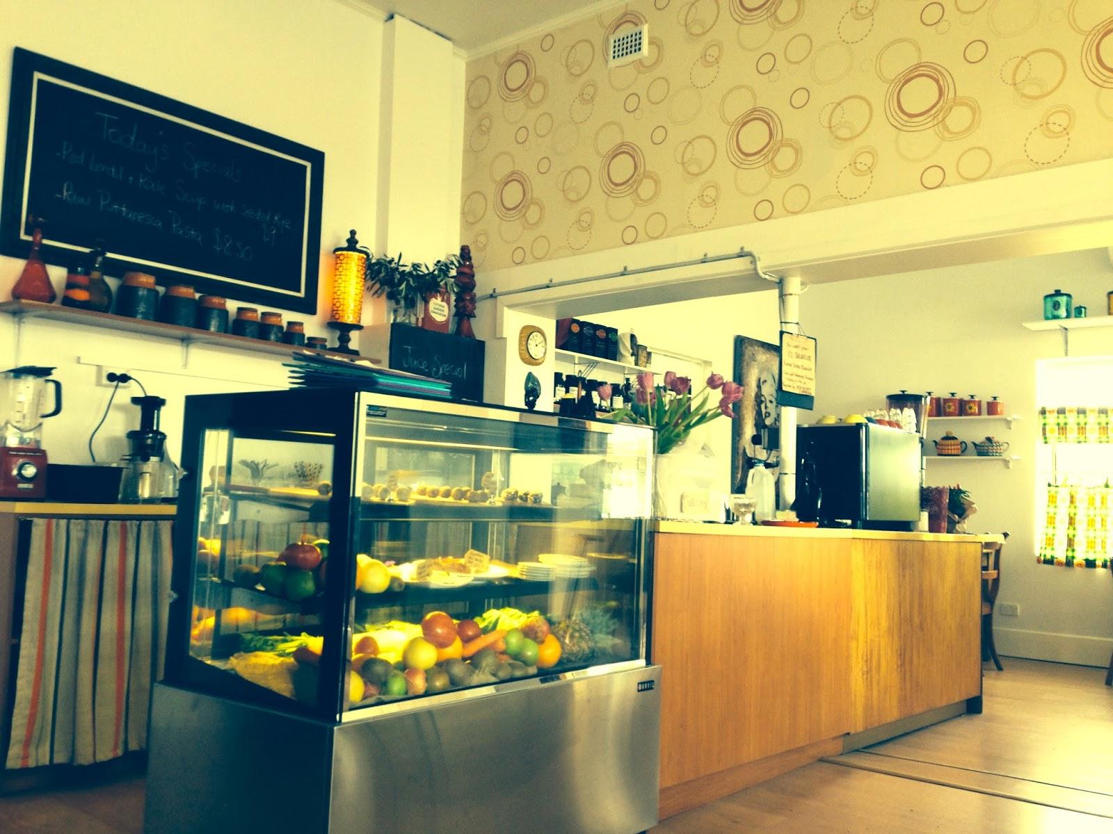 Nettle Raw Cafe, West Croydon