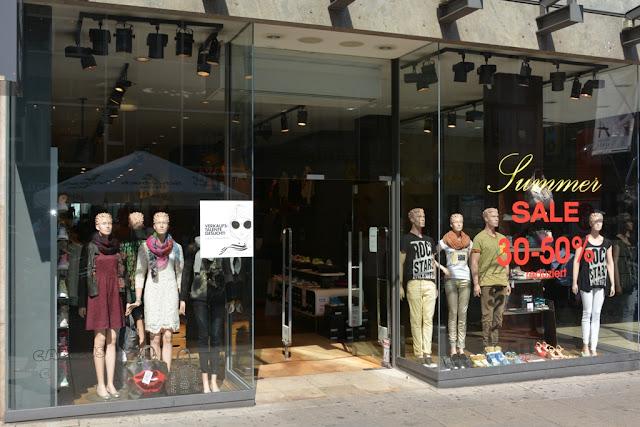 Königstrasse Stuttgart shopping sale