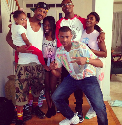 stevie j and his kids