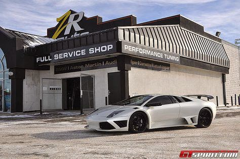 'The White ZR Auto', Lamborghini Murcielago 1.300 Hp