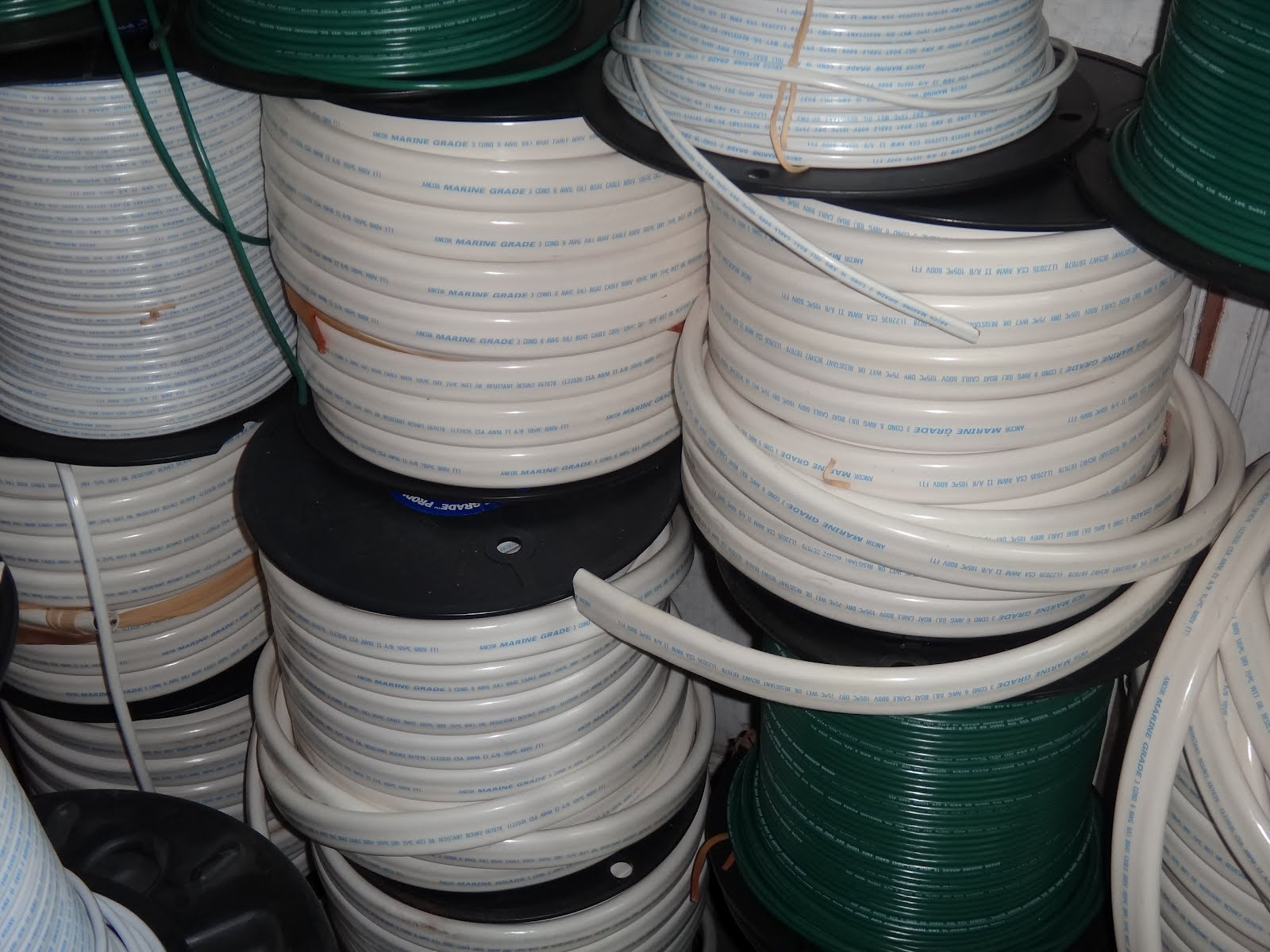 The Official Minney\'s Yacht Surplus Blog: Electrical wire-exhaust ...