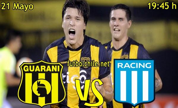 Guaraní vs Racing Club - Copa Libertadores - 19:45 h - 21/05/2015