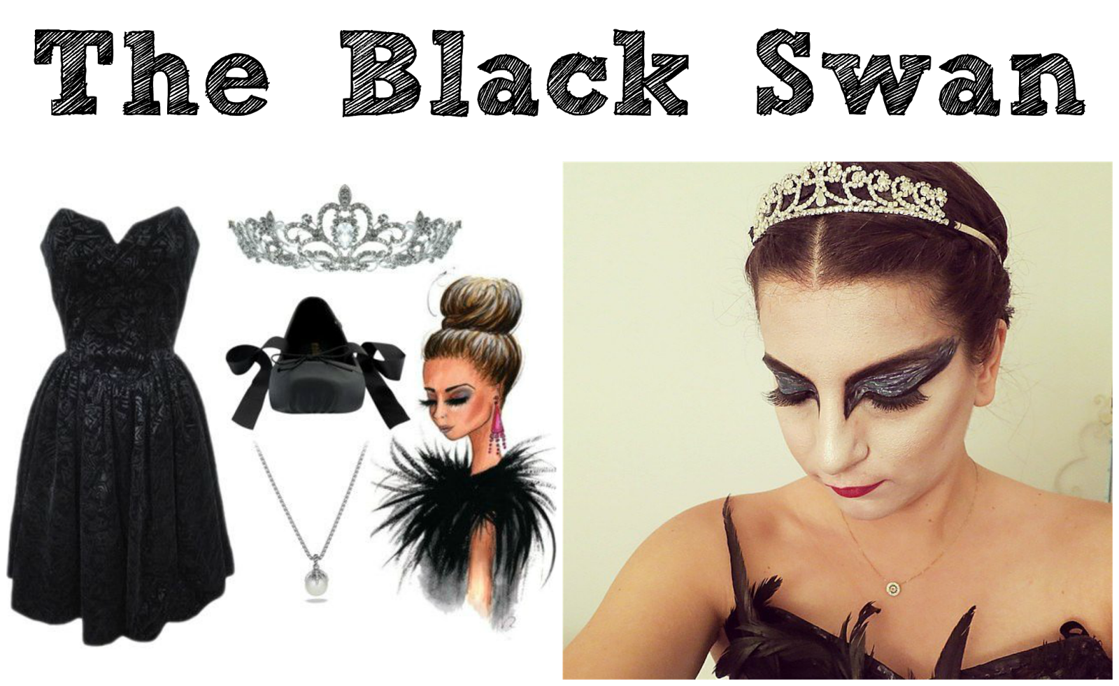 5 DIY Halloween Costumes - Natalie Portman - Black Swan | Life in the Sunshine