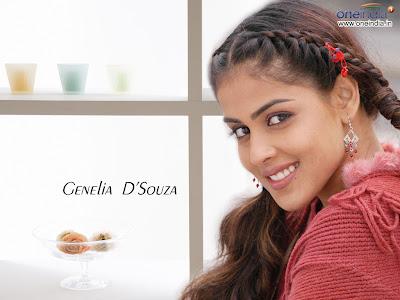 Genelia D Souza Latest Wallpapers