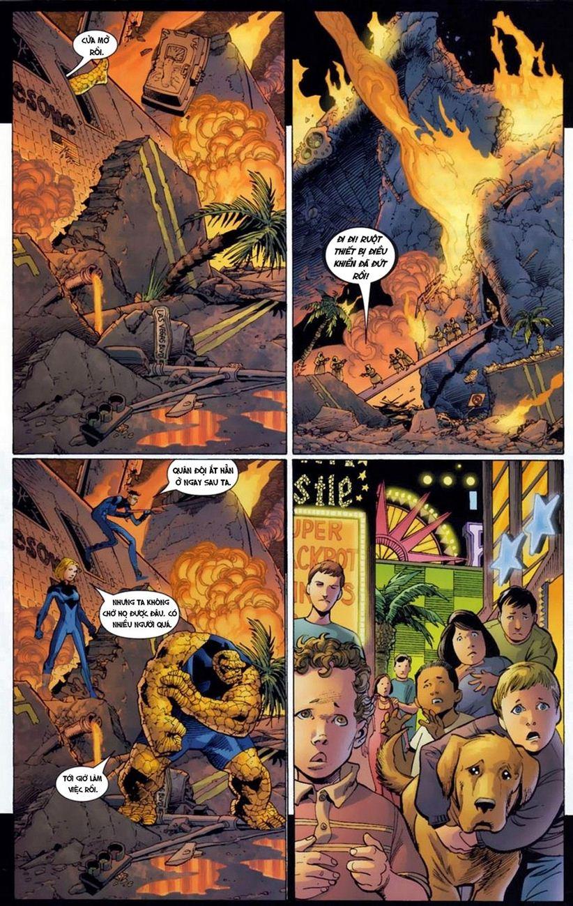 Ultimate Fantastic Four chap 18 - Trang 10