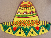 Happy Cinco de Mayo!!! Note: I saw this project many places painted paper, .