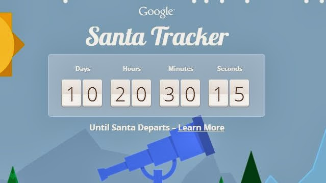 Christmas delight from Google for children, track Santa with this free Android App for your smart phones and tablets