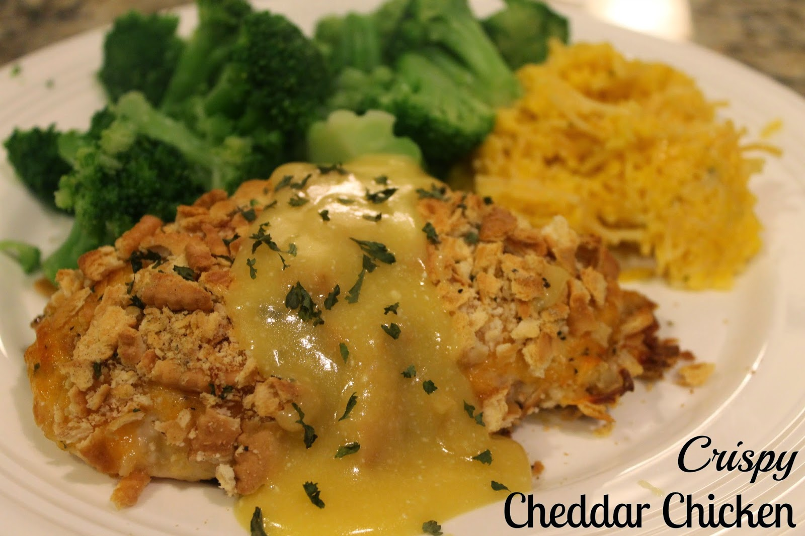 Notes from the Nelsens: Crispy Cheddar Chicken