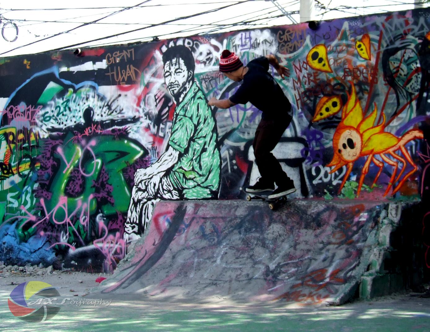 Skateboards and graffiti at intramuros axl powerhouse production the urban artworks aka graffiti altavistaventures Images