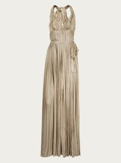 modelos de vestidos bege