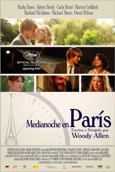 Medianoche en Paris [Midnight in Paris] 2011 [DVDR Menu Full] Español Latino [ISO] NTSC