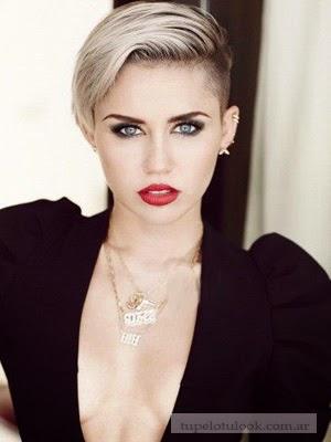 cortes pelo 2014 Miley