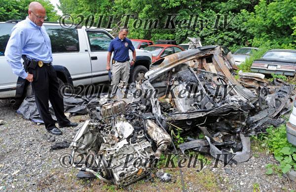 Ryan Dunn Car Accident Photos