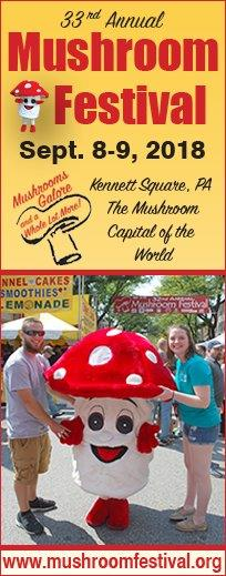 33rd Annual Mushroom FEstival