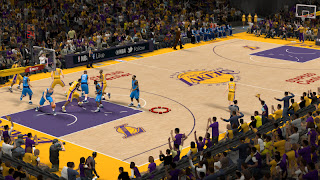 NBA 2K13 New Los Angeles Lakers Court Update