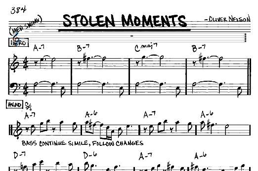 Stolen Moments - Oliver Nelson