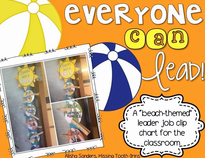 https://www.teacherspayteachers.com/Product/Classroom-Leader-Jobs-Beach-Theme-1380056