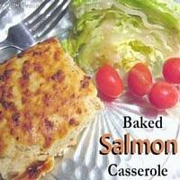 Baked Salmon Casserole