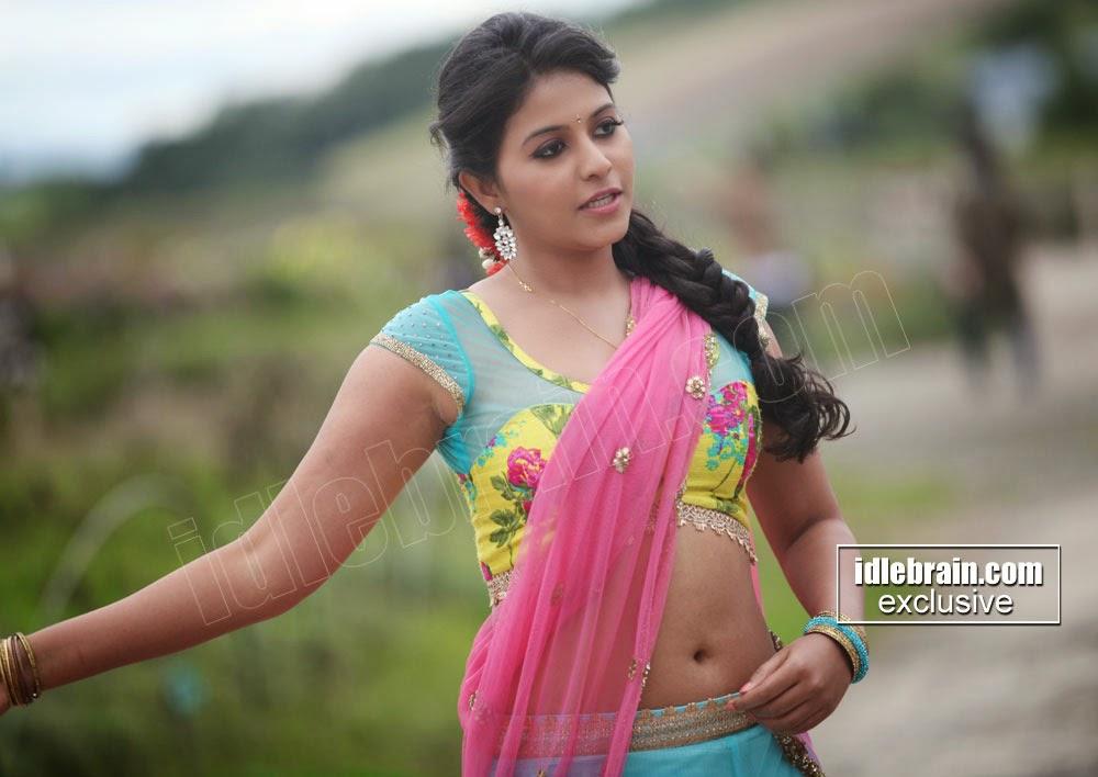 Anjali deep navel