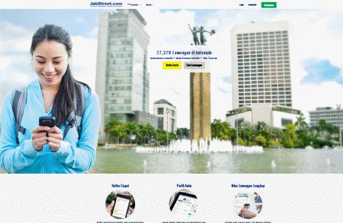 Situs Pusat Informasi Lowongan Kerja www.jobstreet.co.id