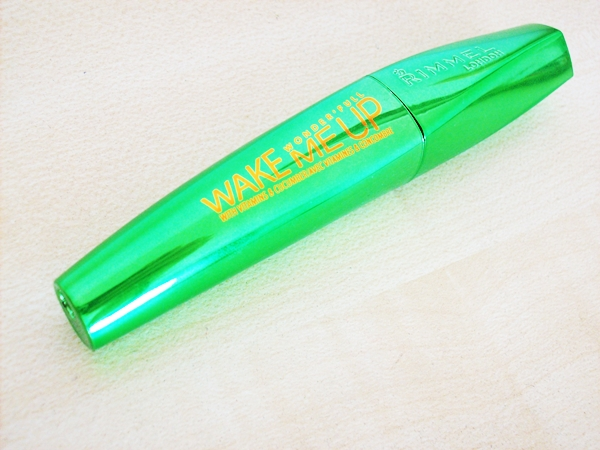 Ogórkowy tusz, czyli Wonderful Wake me up mascara Rimmel