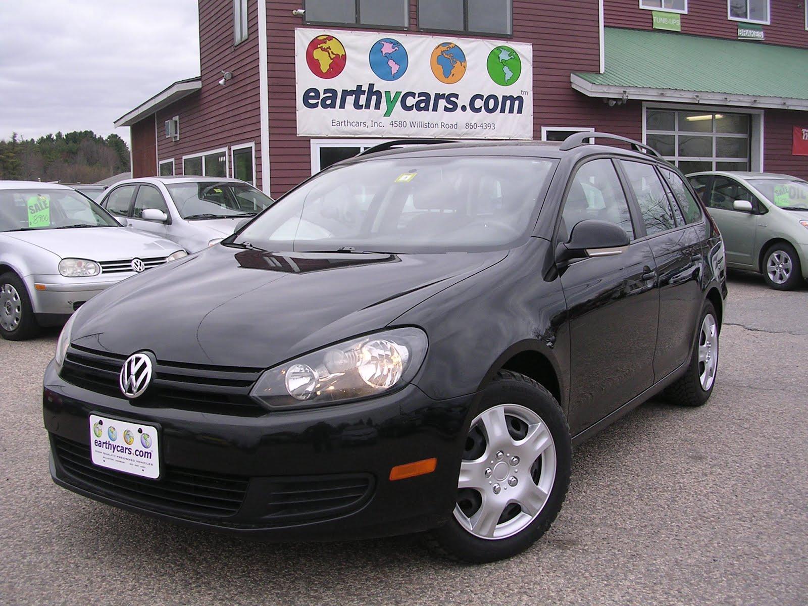 ... : EARTHY CAR OF THE WEEK: 2010 Black Volkswagen Jetta Sportswagen S