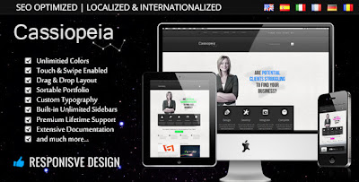 Cassiopeia Wordpress Theme
