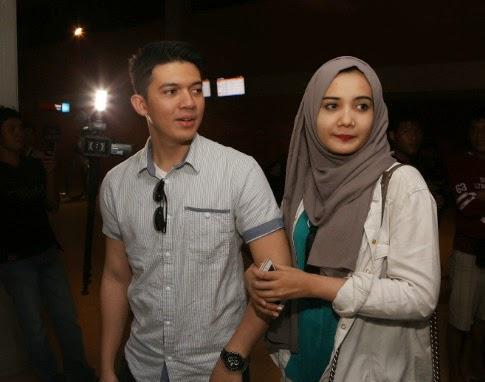 Zaskia Sungkar dan Irwansyah Hadiri Acara Resepsi Raffi-Nagita
