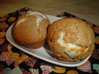 Secrets from the Cookie Princess: Inside Out Carrot Cake Muffins