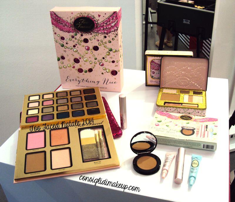 palette natalizia natale 2014 too faced