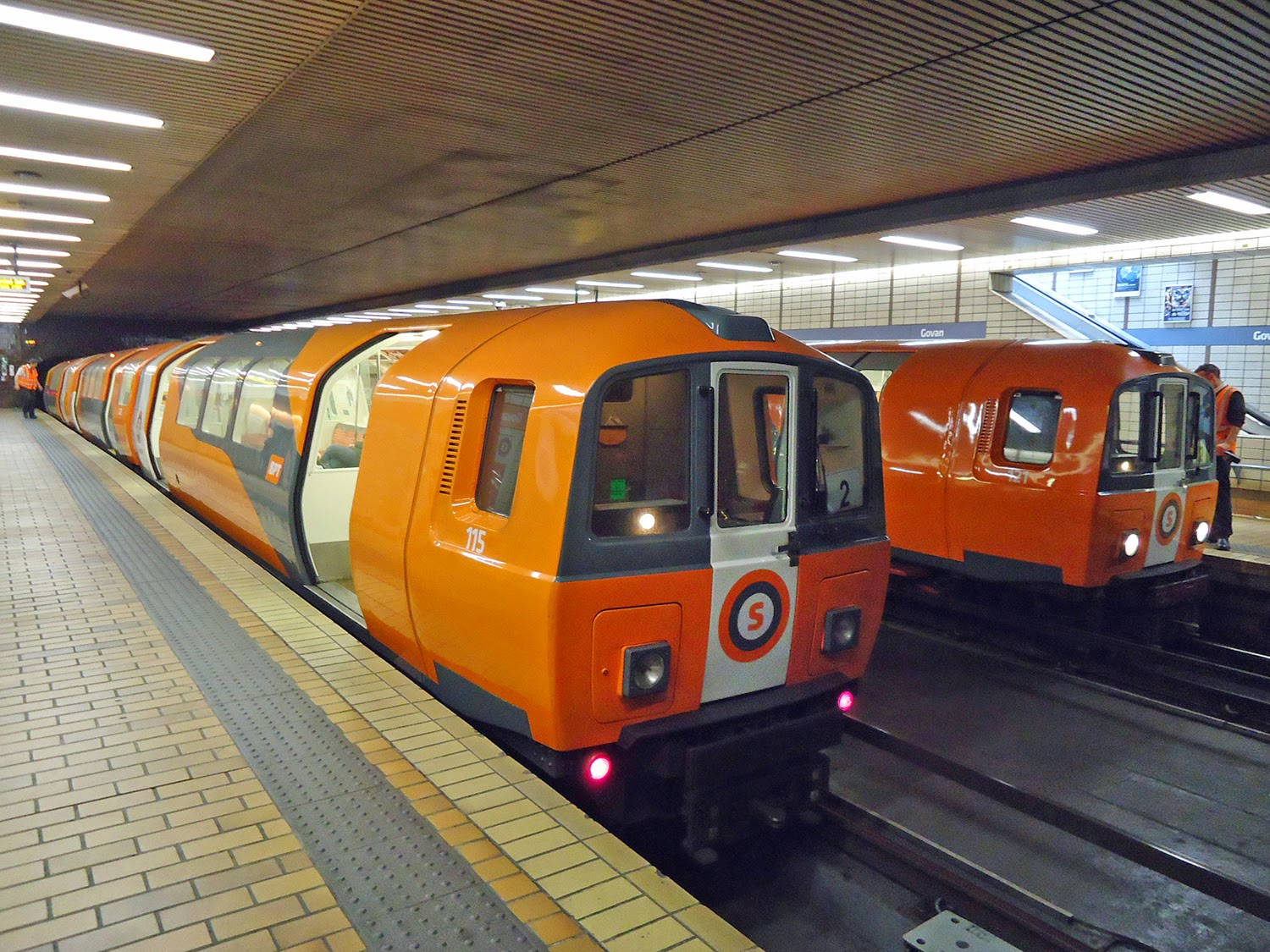 Glasgow Subway, Glasgow, Scotland