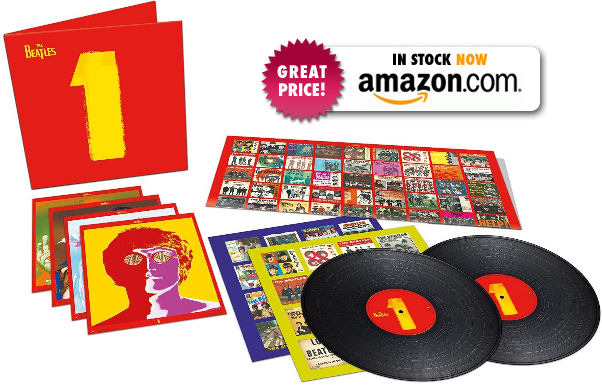 THE BEATLES 1 VINYL! CLICK HERE TO ORDER!