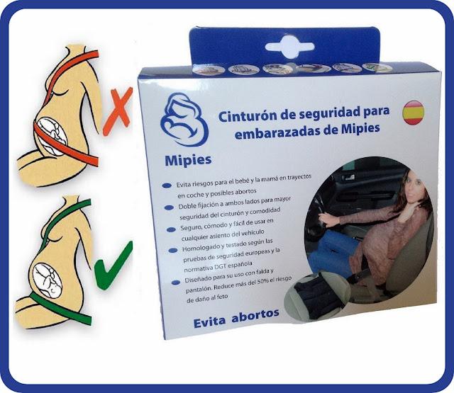 Foto de caja de cinturón de seguridad para embarazadas