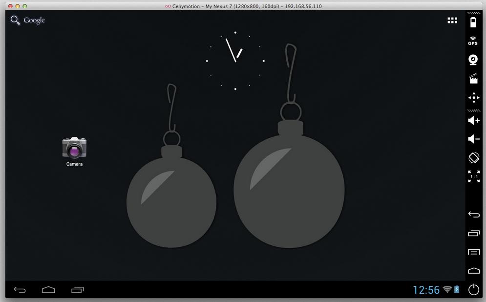 android emulator mac os x 10.7