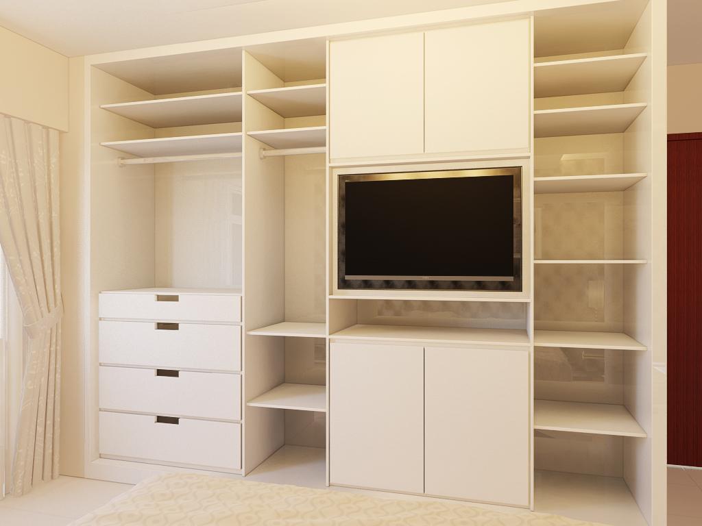 Freelance for interior design 3d visualization rendering - Armario de la tele antena 3 ...