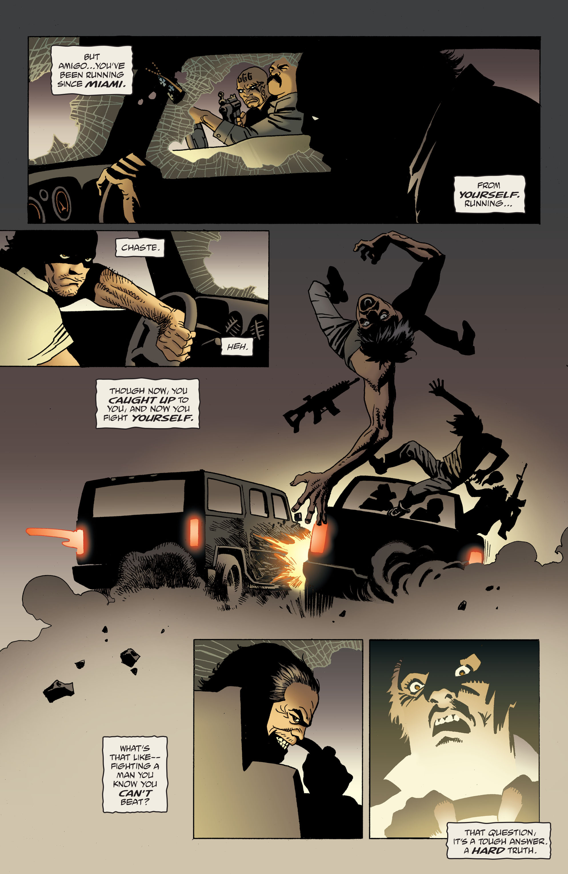 100 Bullets: Brother Lono Full Page 138