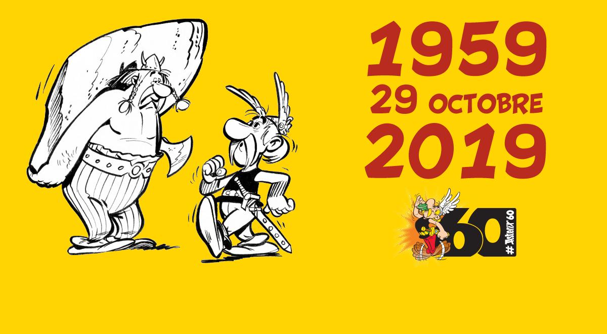 Astérix et Obélix ont 60 ans...