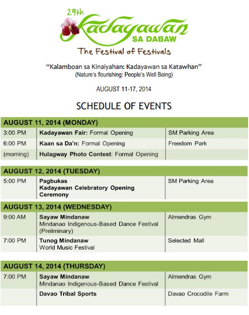 Kadayawan Festival 2014 Davao City