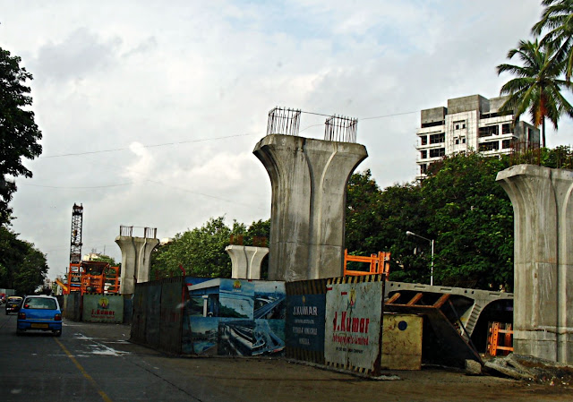 flyover bridge being built